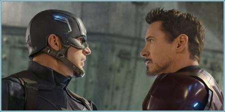 Capitán América e Iron Man