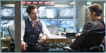 Tony Stark y Steve Rogers