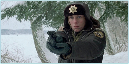 Frances McDormand es Marge Gunderson