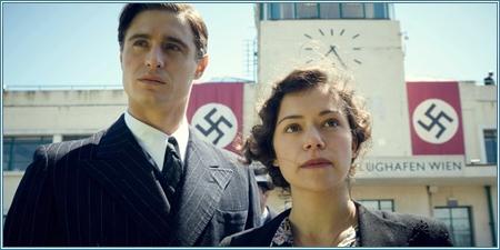 Max Irons y Tatiana Maslany