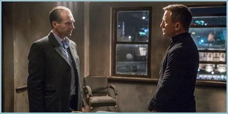 Ralph Fiennes y Daniel Craig
