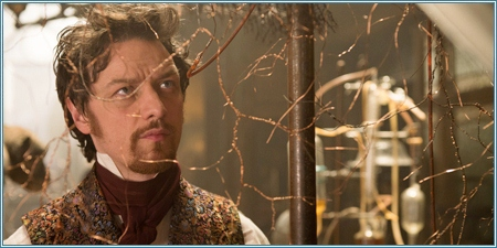James McAvoy es Victor Frankenstein