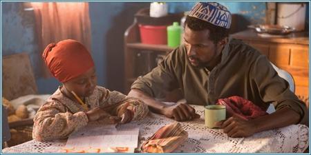 Aisha Takow y Armaan Haggio son Alia y su padre