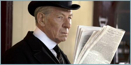 Ian McKellen es Mr. Holmes