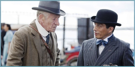 Ian McKellen y Hiroyuki Sanada