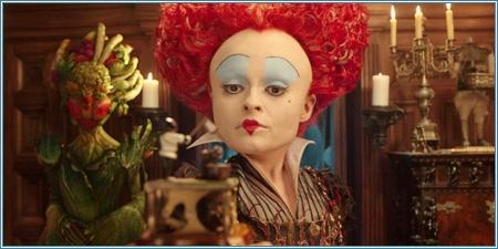 Helena Bonham Carter es la Reina Roja