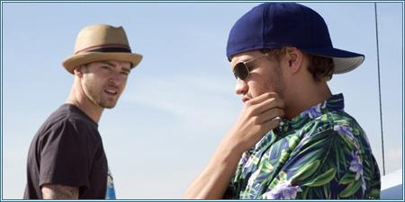 Justin Timberlake y Emile Hirsch