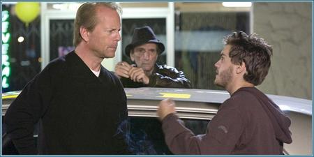 Bruce Willis, Harry Dean Stanton y Emile Hirsch