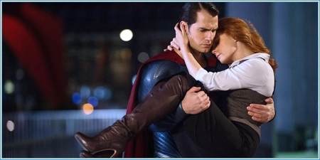 Henry Cavill y Amy Adams