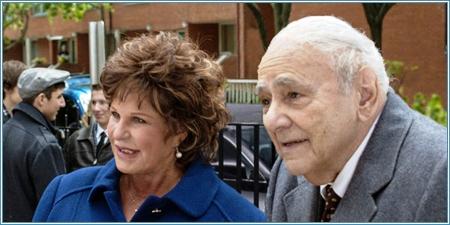 Lainie Kazan y Michael Constantine