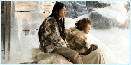Rinko Kikuchi y Juliette Binoche