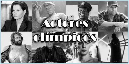 Actores olímpicos