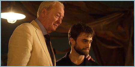 Michael Caine y Daniel Radcliffe