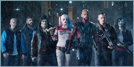 Jay Hernandez, Jai Courtney, Adewale Akinnuoye-Agbaje, Margot Robbie, Will Smith, Joel Kinnaman y Karen Fukuhara