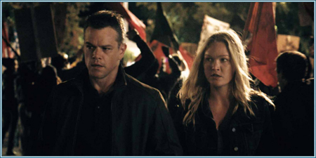 Matt Damon y Julia Stiles