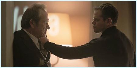 Tommy Lee Jones y Matt Damon