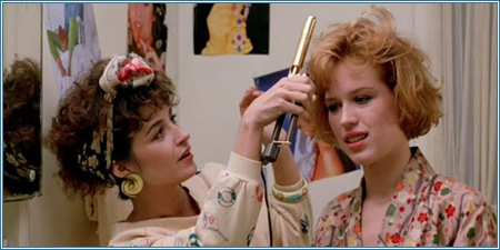 Annie Potts y Molly Ringwald