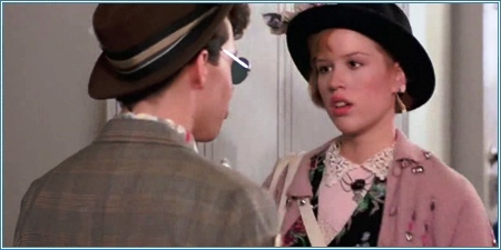 Jon Cryer y Molly Ringwald
