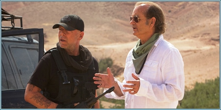 Bruce Willis y Bill Murray