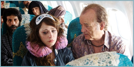 Zooey Deschanel y Bill Murray