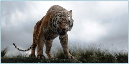 El temible tigre Shere Khan