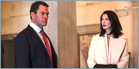 Dominic West y Caitriona Balfe