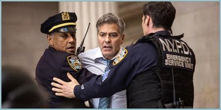 Giancarlo Esposito y George Clooney