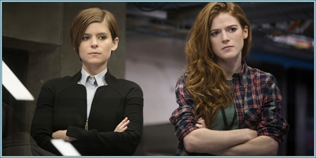 Kate Mara y Rose Leslie