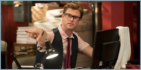 Chris Hemsworth es Kevin