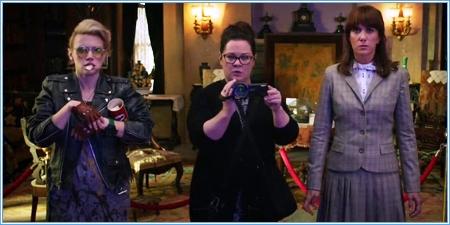Kate McKinnon, Melissa McCarthy y Kristen Wiig
