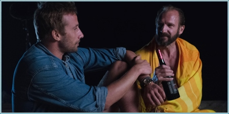 Matthias Schoenaerts y Ralph Fiennes
