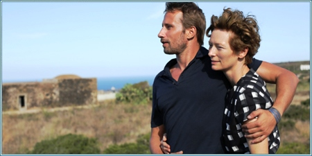 Matthias Schoenaerts y Tilda Swinton