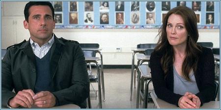 Steve Carell y Julianne Moore son Cal y Emily
