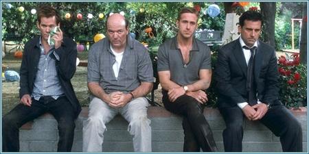 Kevin Bacon, John Carroll Lynch, Ryan Gosling y Steve Carell