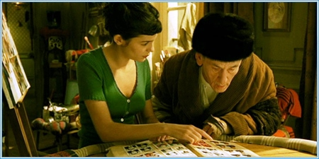Audrey Tautou y Serge Merlin