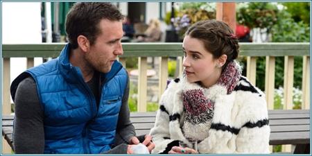 Matthew Lewis y Emilia Clarke