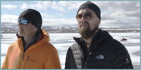 El explorador Enric Sala y Leonardo DiCaprio