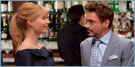 Gwyneth Paltrow y Robert Downey Jr.