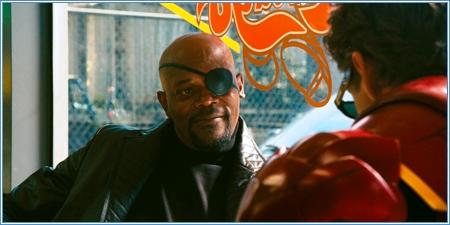 Samuel L. Jackson y Robert Downey Jr.