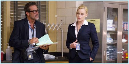 Jeffrey Dean Morgan y Abbie Cornish