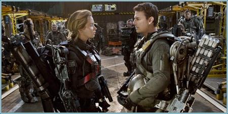 Emily Blunt y Tom Cruise