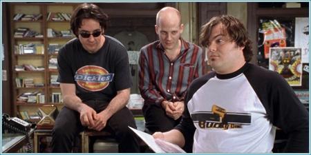 John Cusack, Todd Louiso y Jack Black