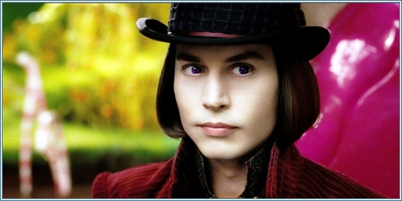 Johnny Depp es Willy Wonka