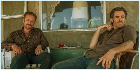 Ben Foster y Chris Pine