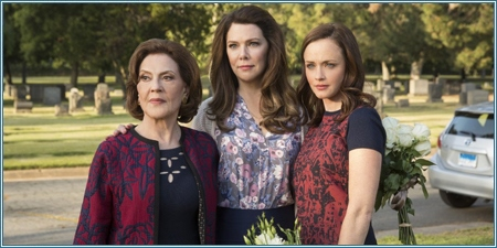 Kelly Bishop, Lauren Graham y Alexis Bledel