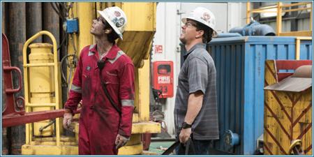 Dylan O'Brien y Mark Wahlberg