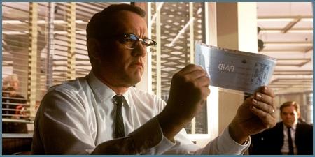 Tom Hanks es Carl Hanratty
