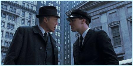 Christopher Walken y Leonardo DiCaprio