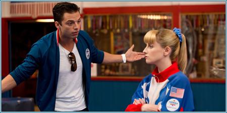 Sebastian Stan y Melissa Rauch