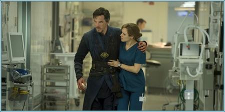 Benedict Cumberbatch y Rachel McAdams